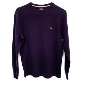 Polo Ralph Lauren Long Sleeve Sleepwear Shirt